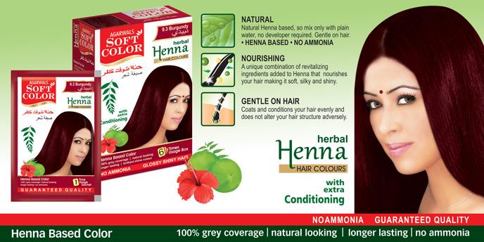 Herbal Beauty Products Hair Dye Black Henna Herbal Hair Color