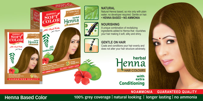 Herbal Beauty Products Hair Dye Black Henna Herbal Hair Color